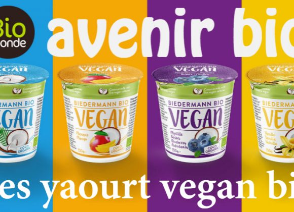 Les yaourt 100% vegan et 100% bio Biedermann