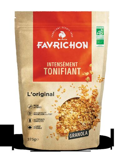 granola original magasin avenir bio rennes