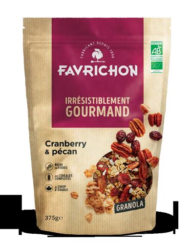granola cranberry pecan magasin avenir bio rennes