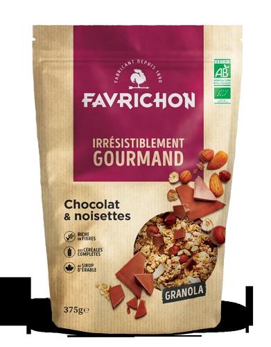 granola chocolat noisette magasin avenir bio rennes