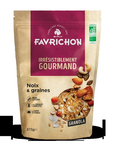 granola noix graines magasin avenir bio rennes
