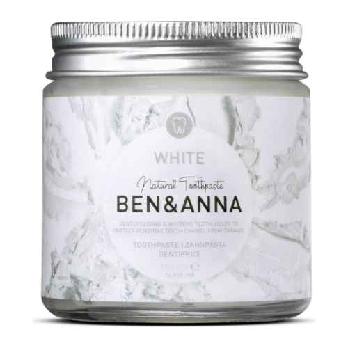 La pâte à dentifrice white de Ben et Anna au magasin biologique de rennes avenir bio