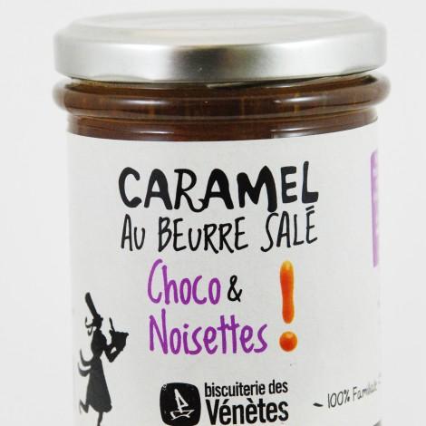 Biscuiterie des vénètes caramel choco et noisette au magasin biologique avenir bio rennes