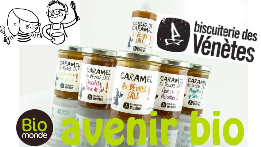 Votre magasin biologique Avenir Bio à rennes vous fait découvrir les pâtes caramel de la biscuiterie des Vénètes