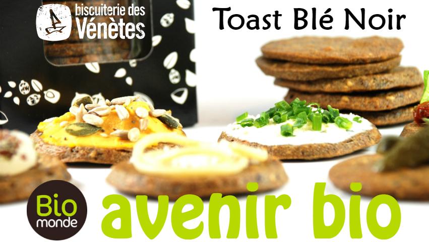 Les toasts blé noir de la biscuiterie des vénètes