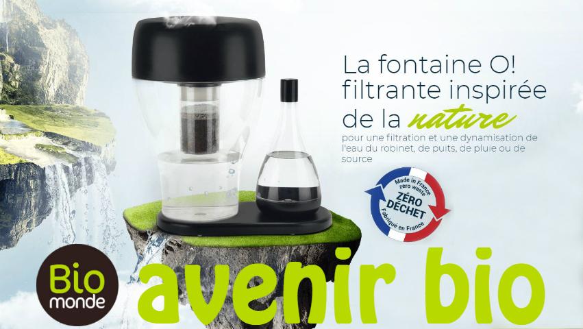 La Fontaine O, un process innovant inspiré par la nature !