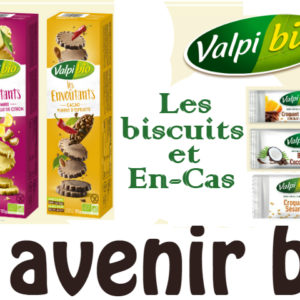 Biscuits et En-Cas sans gluten de Valpibio