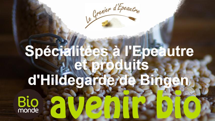 Découvrez l'épeautre selon Hildegarde de Bingen dans votre magasin Avenir Bio Rennes