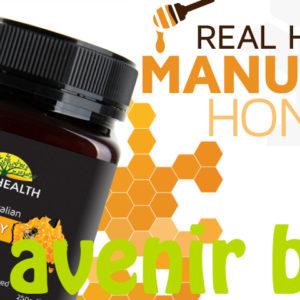 Le miel de Manuka de Real Health