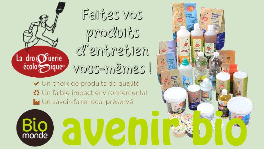 La Droguerie écologique, faites vos produits d'entretien vous-mêmes !