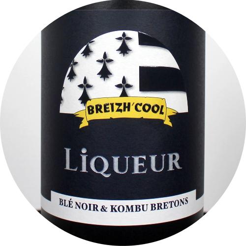 Liqueur Breizh Cool au Blé Noir et Kombu Bretons dans votre Magasin Bio à Rennes