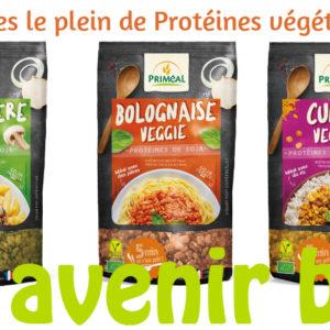 Les protéines végétales de Priméal