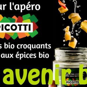 Picotti, des légumes croquants pour l'apéro !