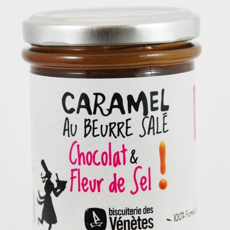 Biscuiterie des vénètes caramel chocolat et fleur de sel au magasin biologique avenir bio rennes