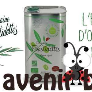 L'huile d'olives Les Bastidettes