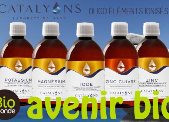 Catalyons, des oligo-éléments ionisés naturels